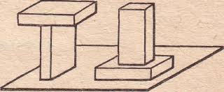 Контрольная работа Давление жидкостей газов и твердых тел класс Одинаковые ли давления производят на стол кирпичи см рис Ответ объясните