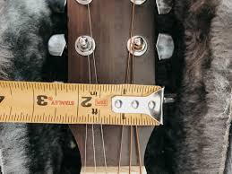 diy wall mount guitar holder lemon
