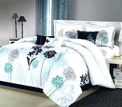 black and white twin comforter sets bed spreads t grey bedding full teal damask