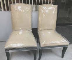 fresh clear plastic dining chairs