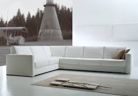 white modern couches. White Modern Sofa Bed Couches O