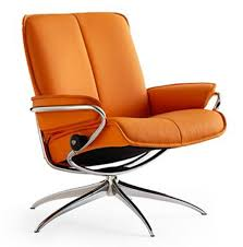 office recliners. stressless city low back leather recliner chair by ekornes office recliners
