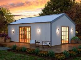 Small Picture All Steel Sheds Newcastle Sheds and Garages Construction of