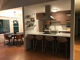 Ikea Kitchen Design Service See How The New Walnut Voxtorp Doors Look In A Real Ikea Kitchen
