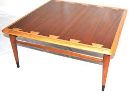mid century modern lane acclaim square coffee table impressive 28