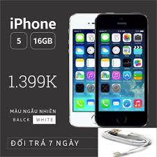 Shop bán Điện thoại IPHONE 5-16GB Phiên bản quốc tế - Bao đổi trả - Màu  ngẫu nhiên - SIÊU UY TÍN