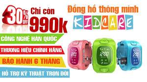 Đồng hồ thông minh - Đồng hộ định vị trẻ em - KIDCARE - YouTube