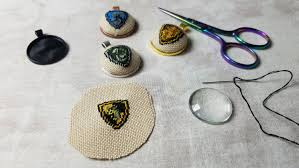 watch highlight cross stitch pendant tutorial from sirithre link to watch on twitch so you can see what was saying at the time