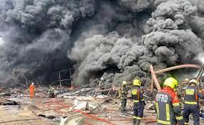 """ภาพชุดเพลิงไหม้บริษัท""""หมิงตี้เคมีคอล จำกัด"""" - เดลินิวส์"""