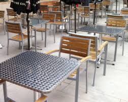 commercial outdoor dining furniture. Restaurant Outdoor Cafe Dining Set Commercial Picnic Tables Furniture
