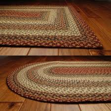 homee decor pumpkin pie cotton braided rug rectangle roost and galley