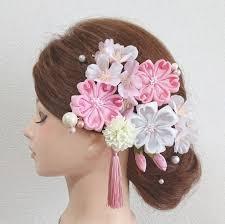 メルカリ 桜 髪飾り つまみ細工 成人式髪飾り 和装髪飾り 振袖髪飾り