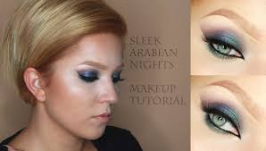 sleek arabian nights makeup tutorial with english subs ec ec