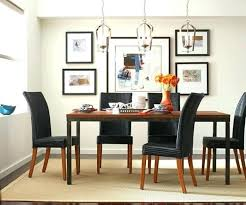 medium size of hanging chandeliers dining room how high to hang light above table low lights
