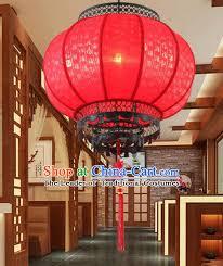 asian china handmade new year lantern traditional ancient red ceiling lamp hanging palace lanterns