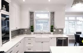 Kitchen  Grey And White Kitchen Design Ideas  Trendy Kitchen - Kitchen interiors