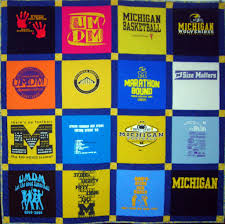 T-Shirt Quilts by Nana's Quilting » » Cindy's University of ... & Cindy's University of Michigan quilt Adamdwight.com
