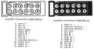 complete list of stock e39 antennas where are they located you want to get a multimeter test light and check the power wire going to the amp as well as teh speaker inputs from the stereo here is a diagram for