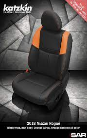 Katzkin Custom Leather Auto Interiors Leather Seat Covers Leather Seat Covers Leather Seat Nissan Rogue
