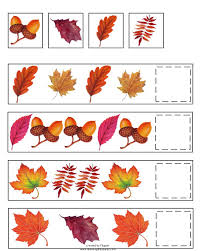 Fall Patterns Adorable Fall Pattern Skills Math Worksheet