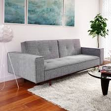 Contemporary leather living room furniture New Model Futons Furniture Depot Living Room Furniture Allmodern