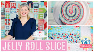 Jelly Roll Slice: Easy Quilting Tutorial with Kimberly Jolly of ... & Jelly Roll Slice: Easy Quilting Tutorial with Kimberly Jolly of Fat Quarter  Shop - YouTube Adamdwight.com