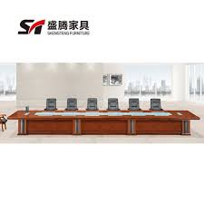 incredible office furnitureveneer modern shaped office. Teng Sheng Office Furniture Veneer Red Walnut Wood Skin Painting Large Conference Table Long Incredible Furnitureveneer Modern Shaped