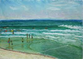 oil pastel landscapes seascapes