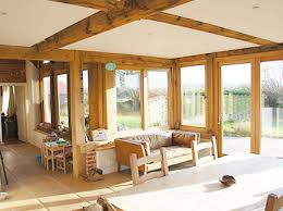 Small Picture Oak Garden Room Taylored Joinery