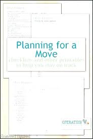 Relocation Checklists Office Checklist Free Excel Project Plan