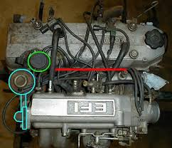 86 22re egr elimination how to pics yotatech forums then you can move the vacuum solenoid to the back of the plenum since there is no not egr back there and that helps clean off the top of the engine