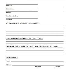 Sample Civil Complaint Form New Civil Complaint Form Colbroco