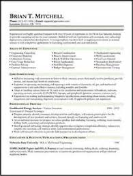 Project Manager Resume For Oil And Gas