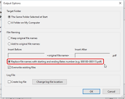 How To Replace File Names With Bates Numbers Edit Pdf