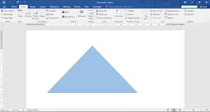 How To Insert Edit Shapes In Microsoft Word 2016