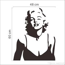 Marilyn Monroe Wallpaper For Bedroom Sexy Marilyn Monroe Wall Art Decal Sticker Classic Marilyn Monroe