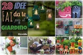 Idee Per Abbellire Il Giardino : Idee fai da te per il giardino foto