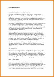 10 Resume Title Samples Activo Holidays