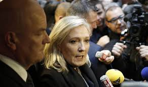 Image result for le pen furious