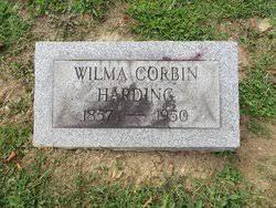 Wilma Corbin Harding (1857-1950) - Find A Grave Memorial