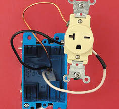 wiring 220 plug wiring diagram installing a 240 volt receptacle better homes u0026 gardensstep 1 route and ground wire