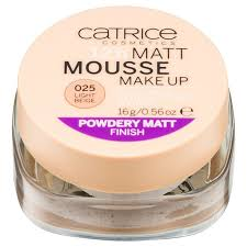 catrice matt mousse 12h options