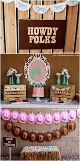 Cowgirl Birthday Decorations 17 Best Ideas About Cowgirl Party Centerpieces On Pinterest Farm