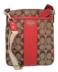Image is loading Coach-Legacy-Signature-Swingpack-Crossbody-Bag-48452-in-