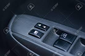 car door lock button. Car Door Interior Armrest With Window Control Panel, Lock Button Stock  Photo - 68166231 Car O
