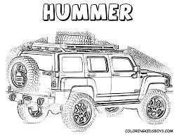 nascar coloring pages | Color Page of Hummer at coloring-pages ...