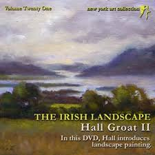 hall groat ii landscape oil painting dvd demonstrations ireland