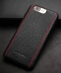 iphone 7 plus cross pattern leather back case