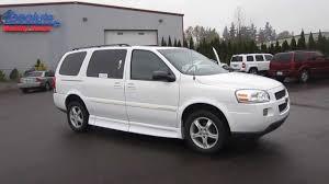 2005 Chevrolet Uplander, White - STOCK# 220670 - Walk around - YouTube