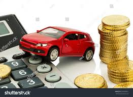 Auto Calculator Rising Costs Car Purchase Stock Photo Edit Now